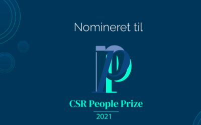 Bæredygtighed og socialt ansvar bringer Special Minds i spil til CSR-pris